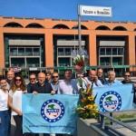 Siulp piazza Falcone e Borsellino