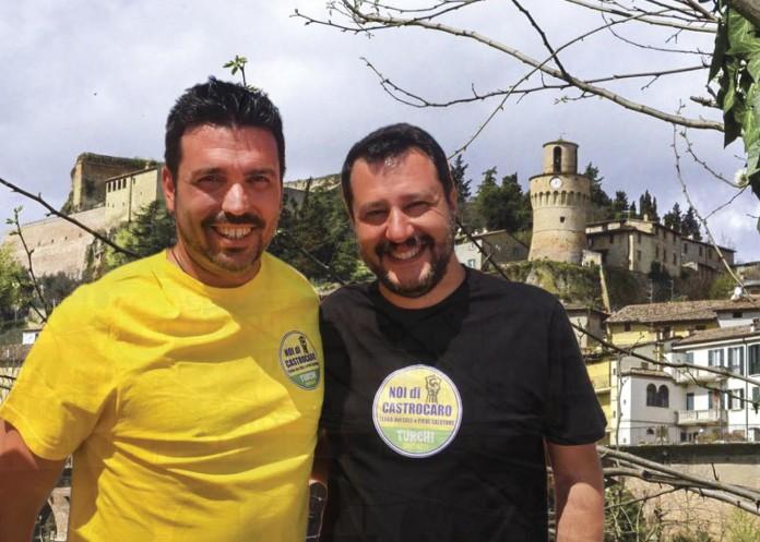 Salvini e Turchi Lega Nord