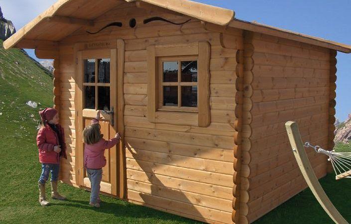 Aree gioco per bambini con casette in legno for Amazon casette per bambini