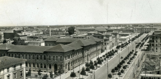 Forlì, Viale Della Libertà del 1949