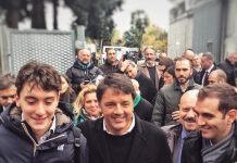 Matteo Renzi a forli