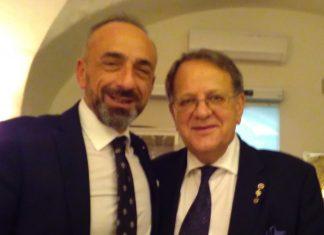 Paolo Battaglia La Terra Borgese e Mircea Gheordunescu