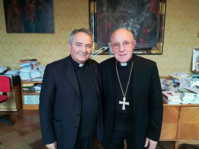 I vescovi Livio Corazza e Lino Pizzi