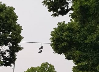 Shoefiti a Forlì