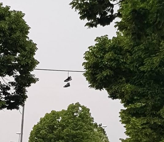 Shoefiti a Forlì