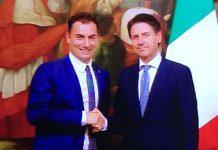 Jacopo Morrone e presidente Conte