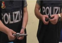 Polizia di Stato sequestro armi