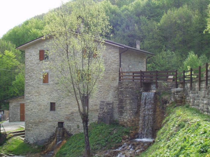 mulino Biondi, a Castel dell'Alpe ( Premilcuore )