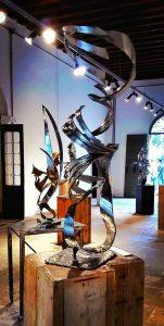 Lo spazio e la luce nelle sculture di Giuseppe Floccari