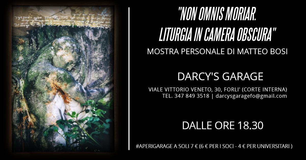 Darcy's Garage Bosi mostra fotografica