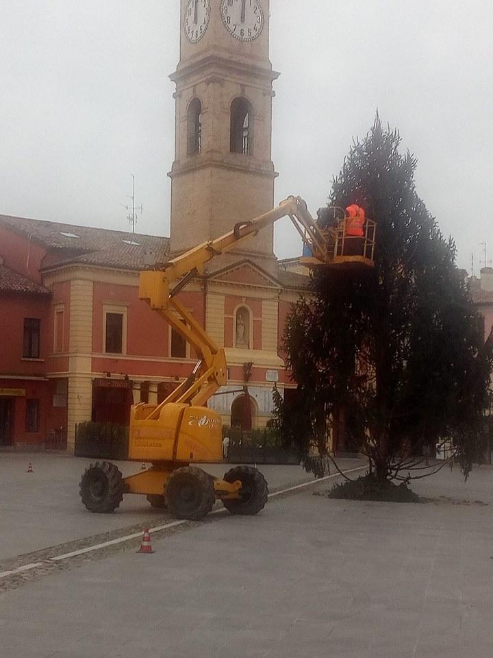 Albero di Natale 2018 a Forlimpopoli