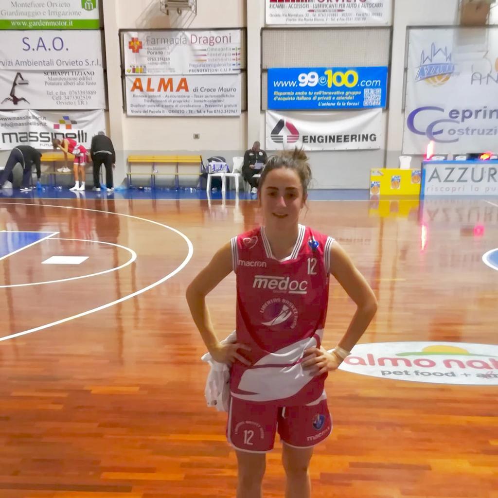 Benedetta-Gramaccioni basket Medoc