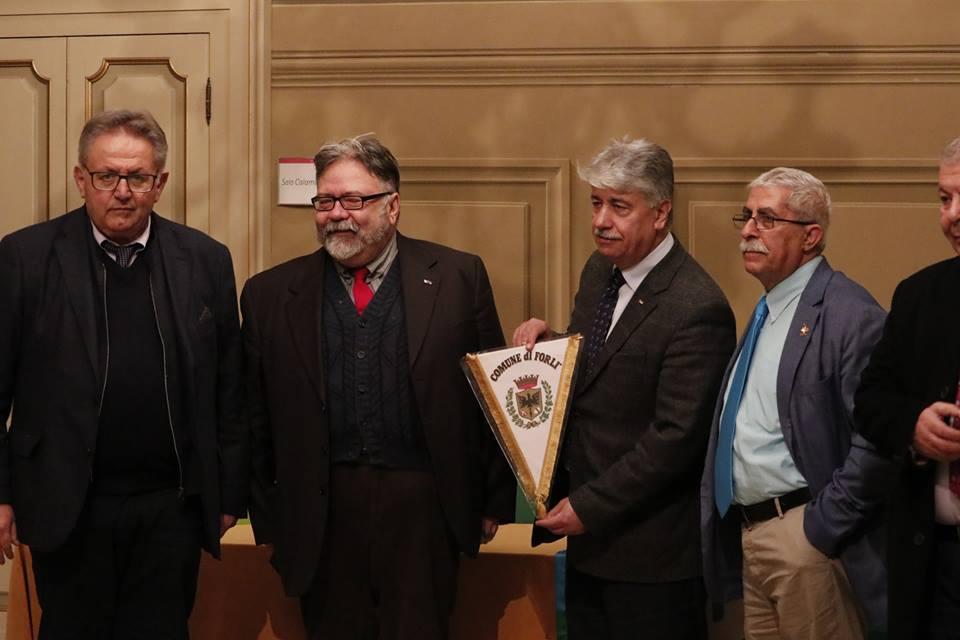 delegazione palestinese in Comune a Forlì