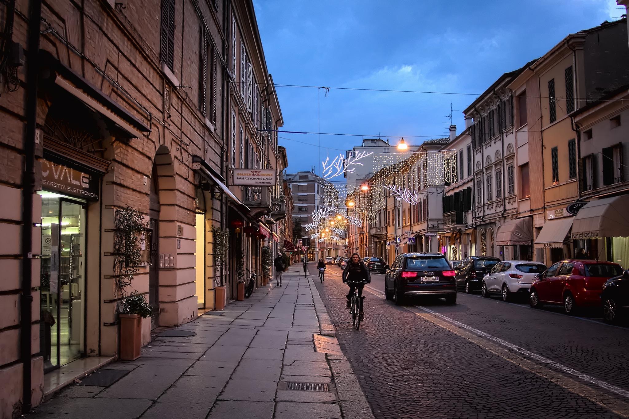 Corso-Mazzini-a-Forlì foto di Renzo Zilio