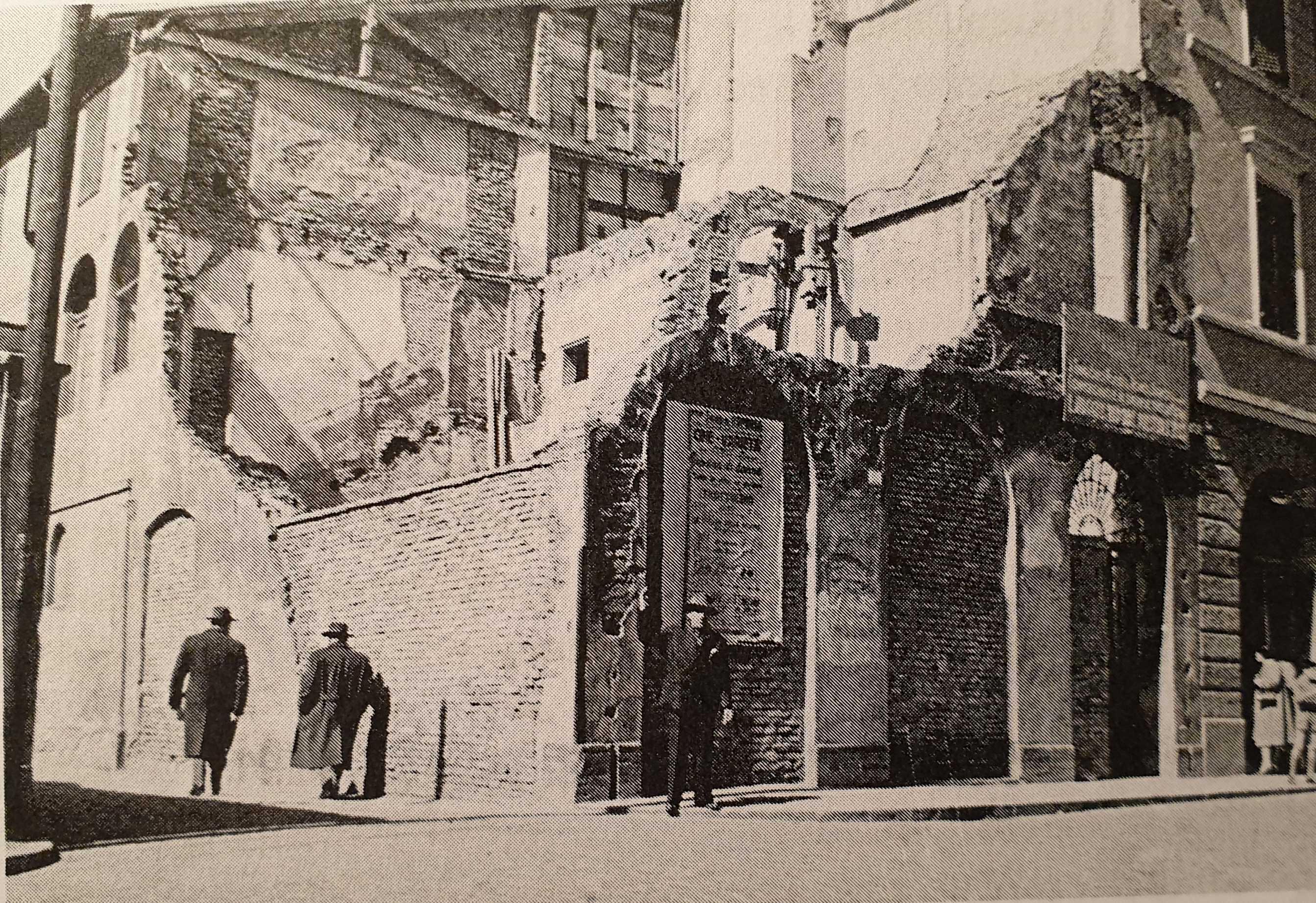 Forlì-via-Merenda-distrutta-dal-bombardamento-tedesco-del-10-dicembre-1944