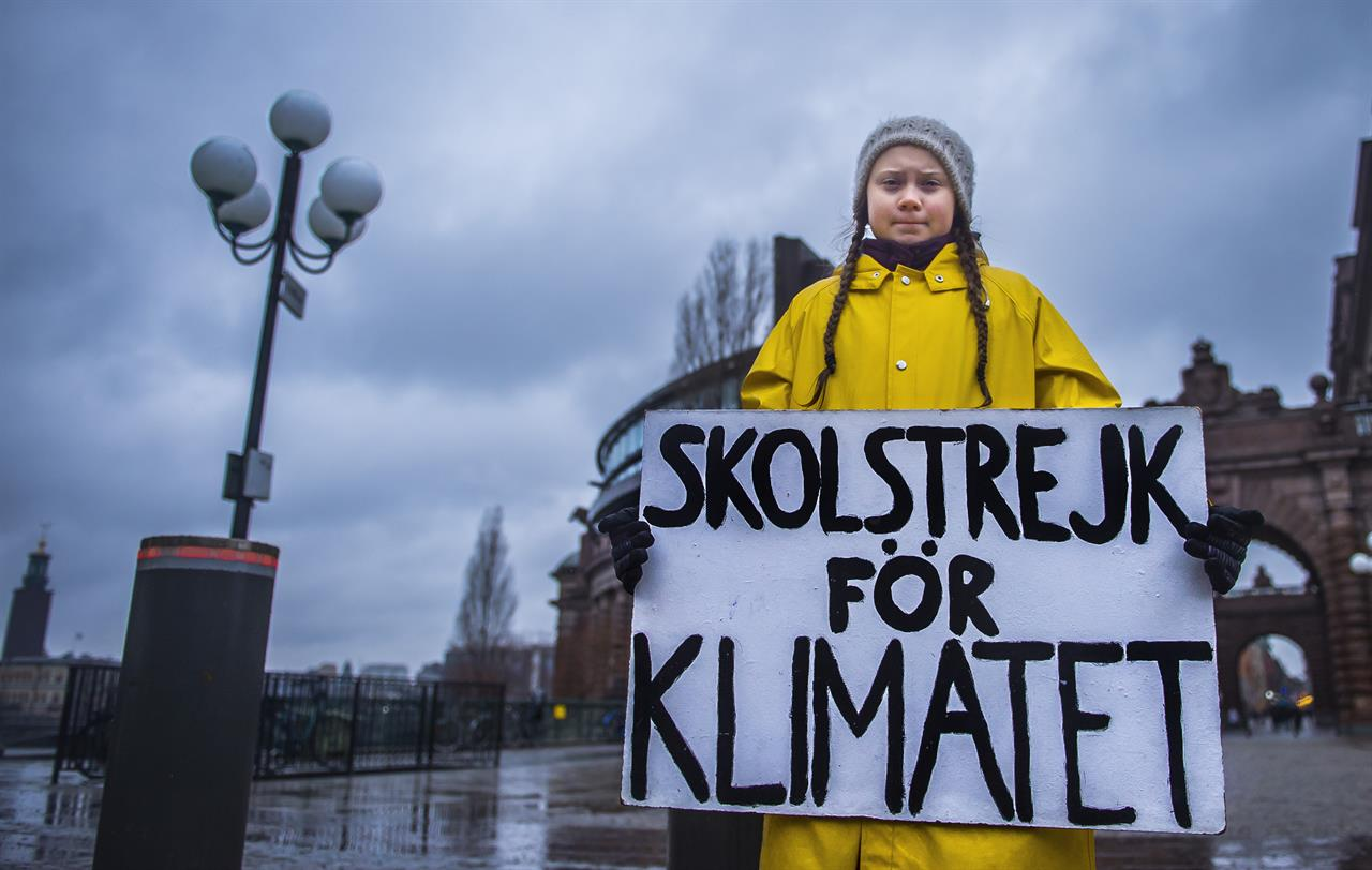Greta-Thunberg Fridays for Future