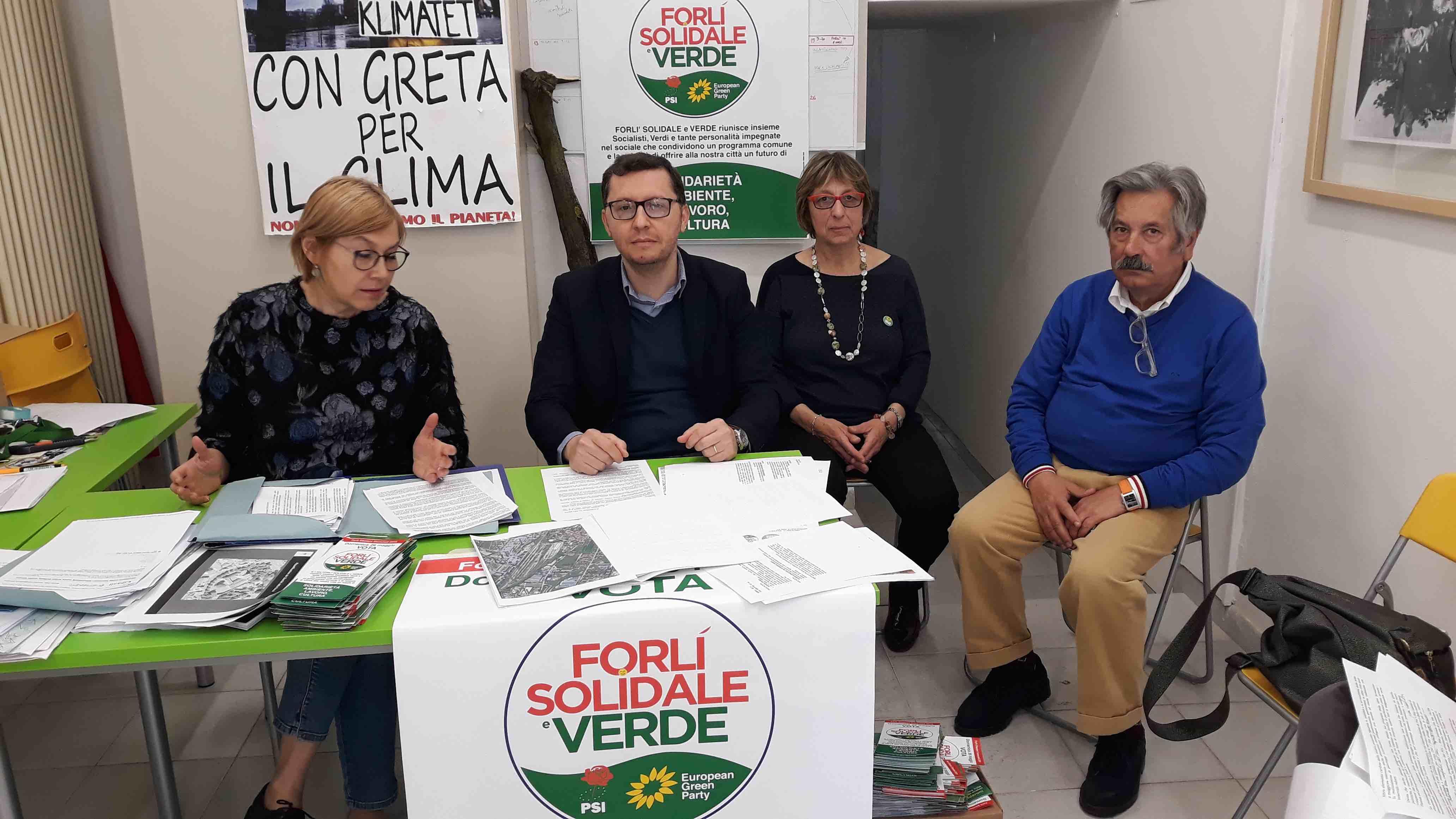 Forli Verde e Solidale Verdi