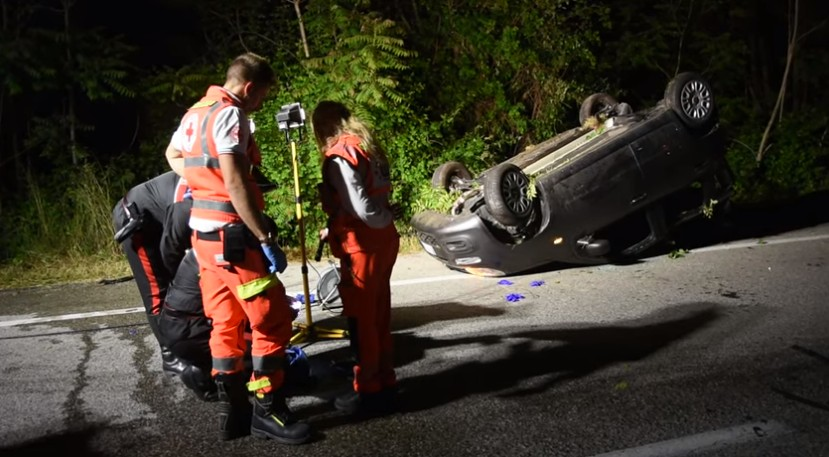 Incidente stradale Forlimpopoli