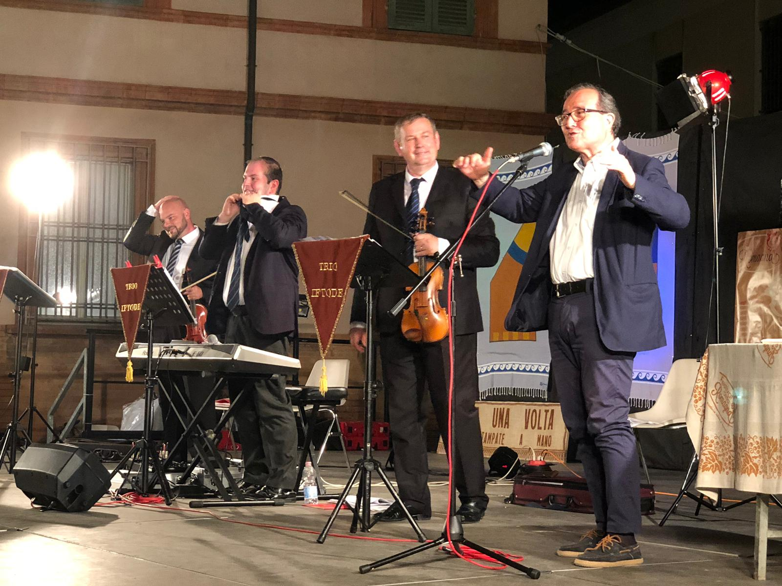 Trio Iftode e Gabriele Zelli