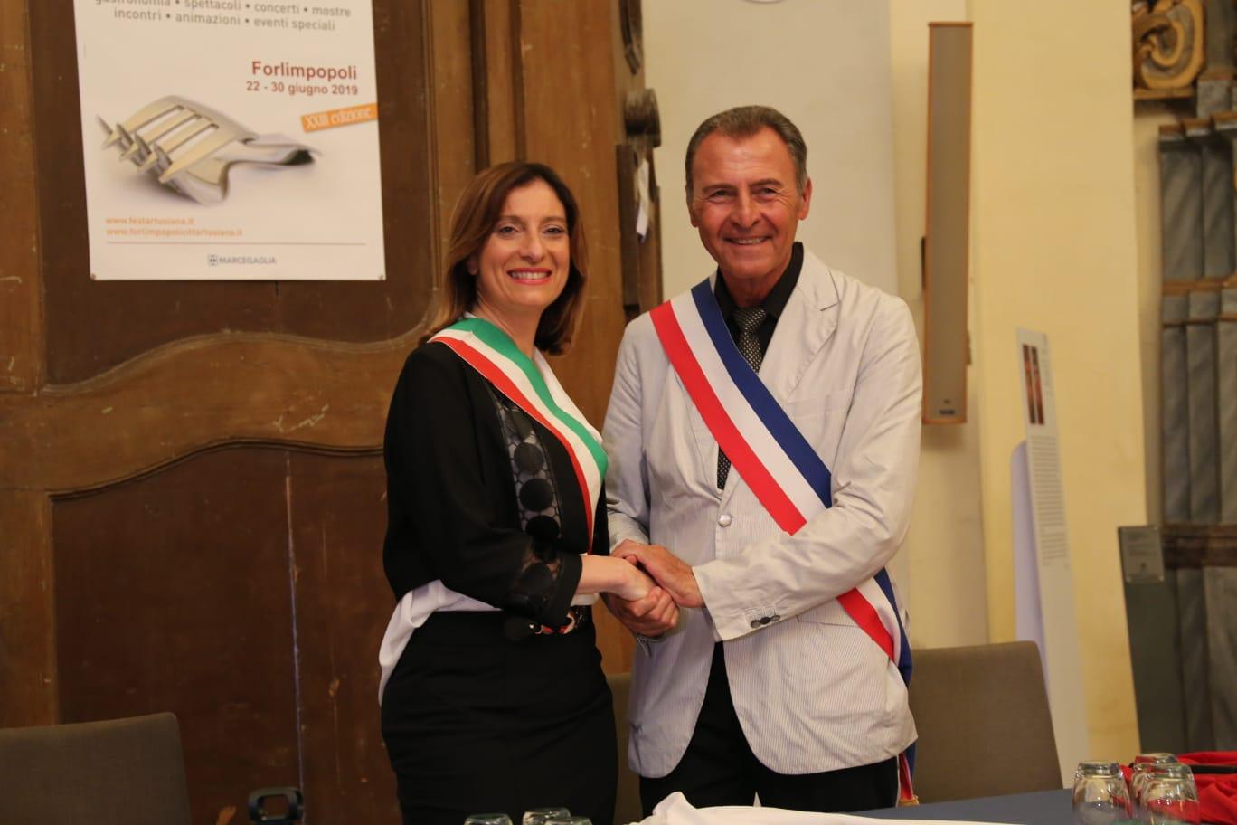 Milena Garavini e Luca Lionnel