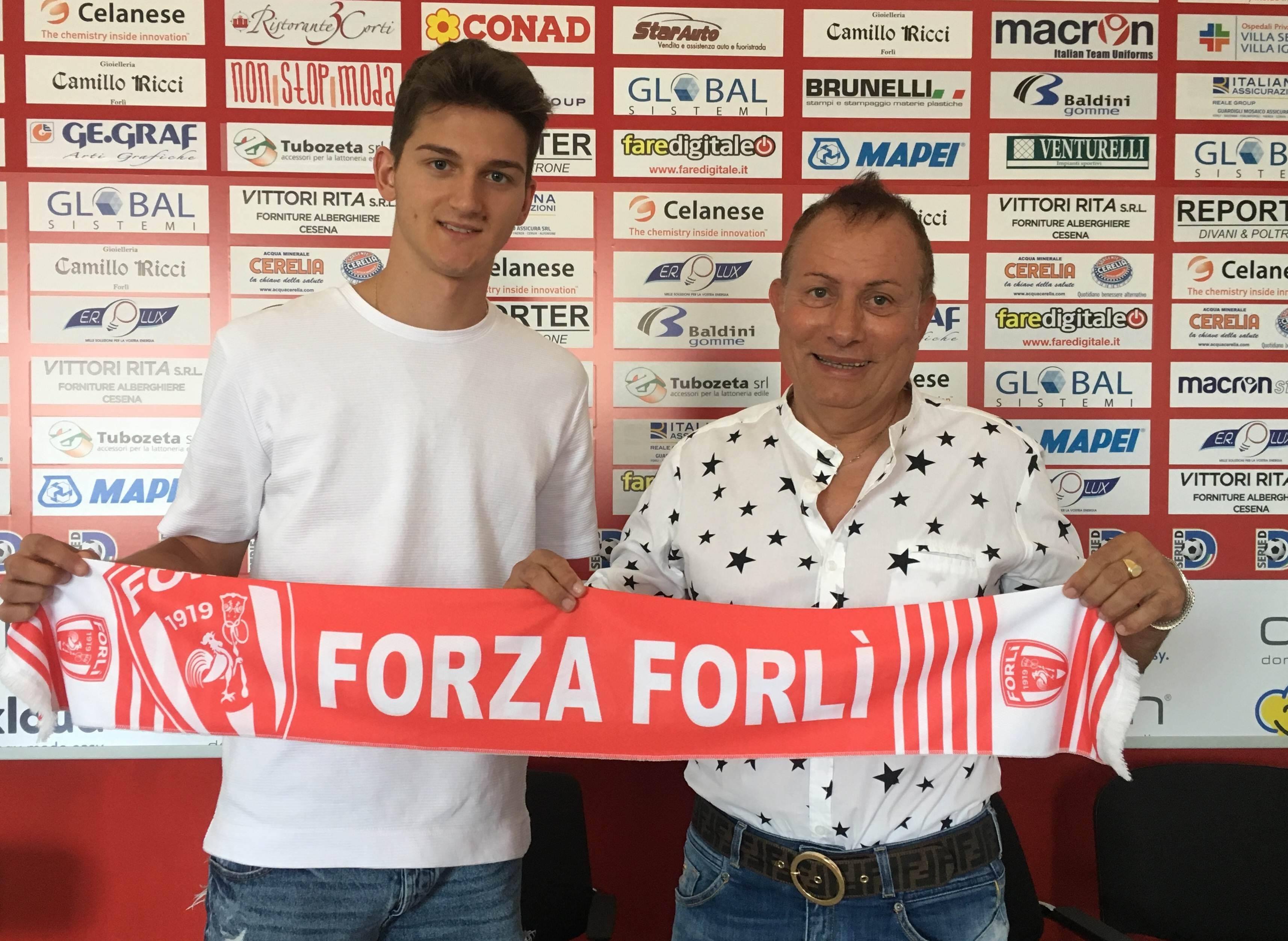 Andrea Gkertsos Forlì Calcio
