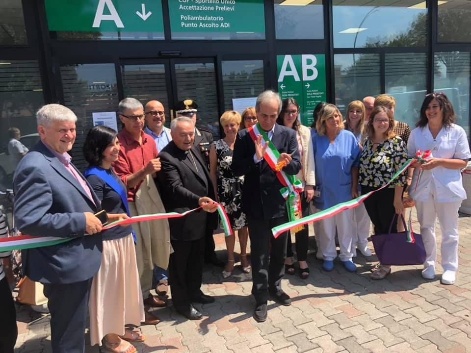 Inaugurazione Ausl-via-Colombo-Forlì
