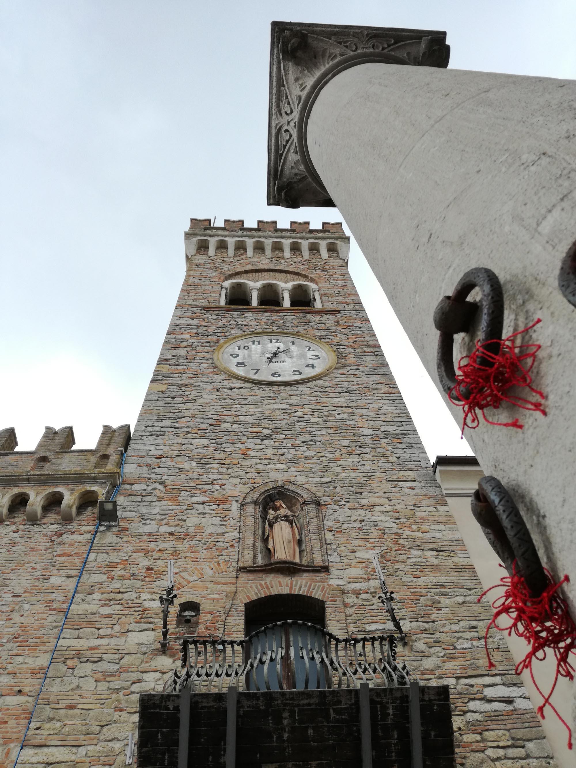 Bertinoro colonna ospitalità e torre