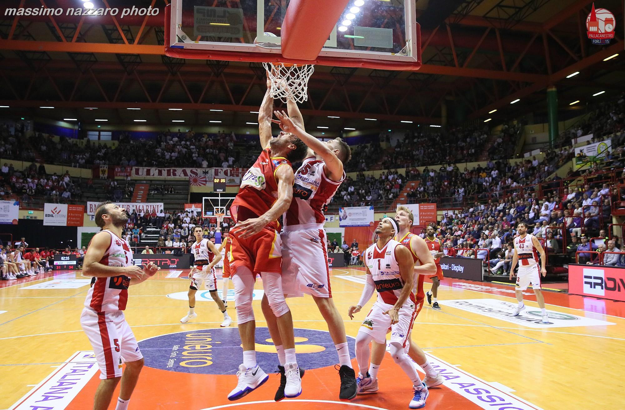 Basket-Forlì-Ravenna
