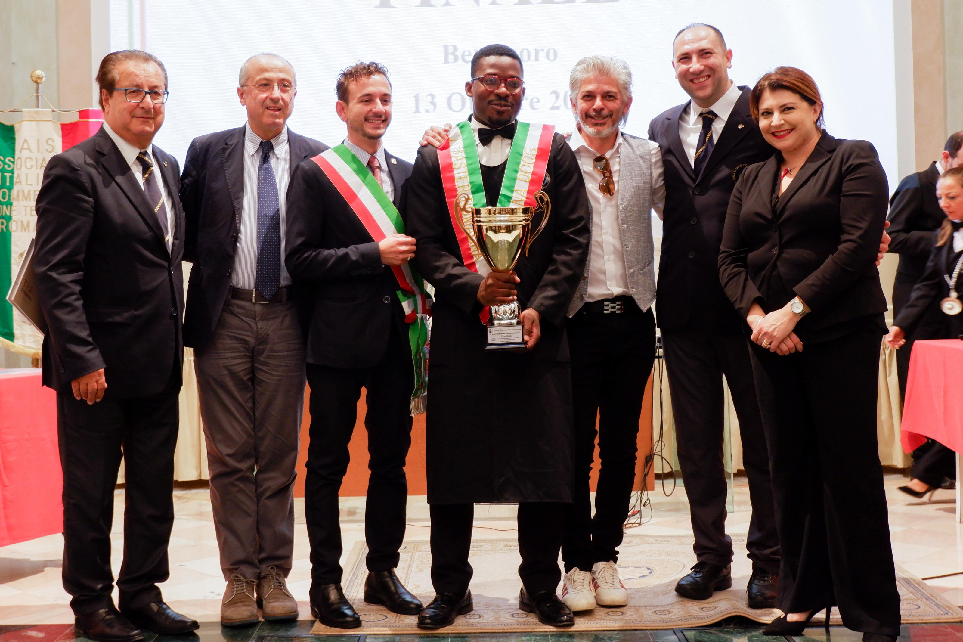 Gilles Degboe Coffi vince il Master dell'Albana