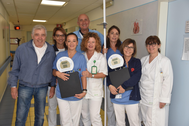 Donazione bilance digitali a Cardiologia Forlì