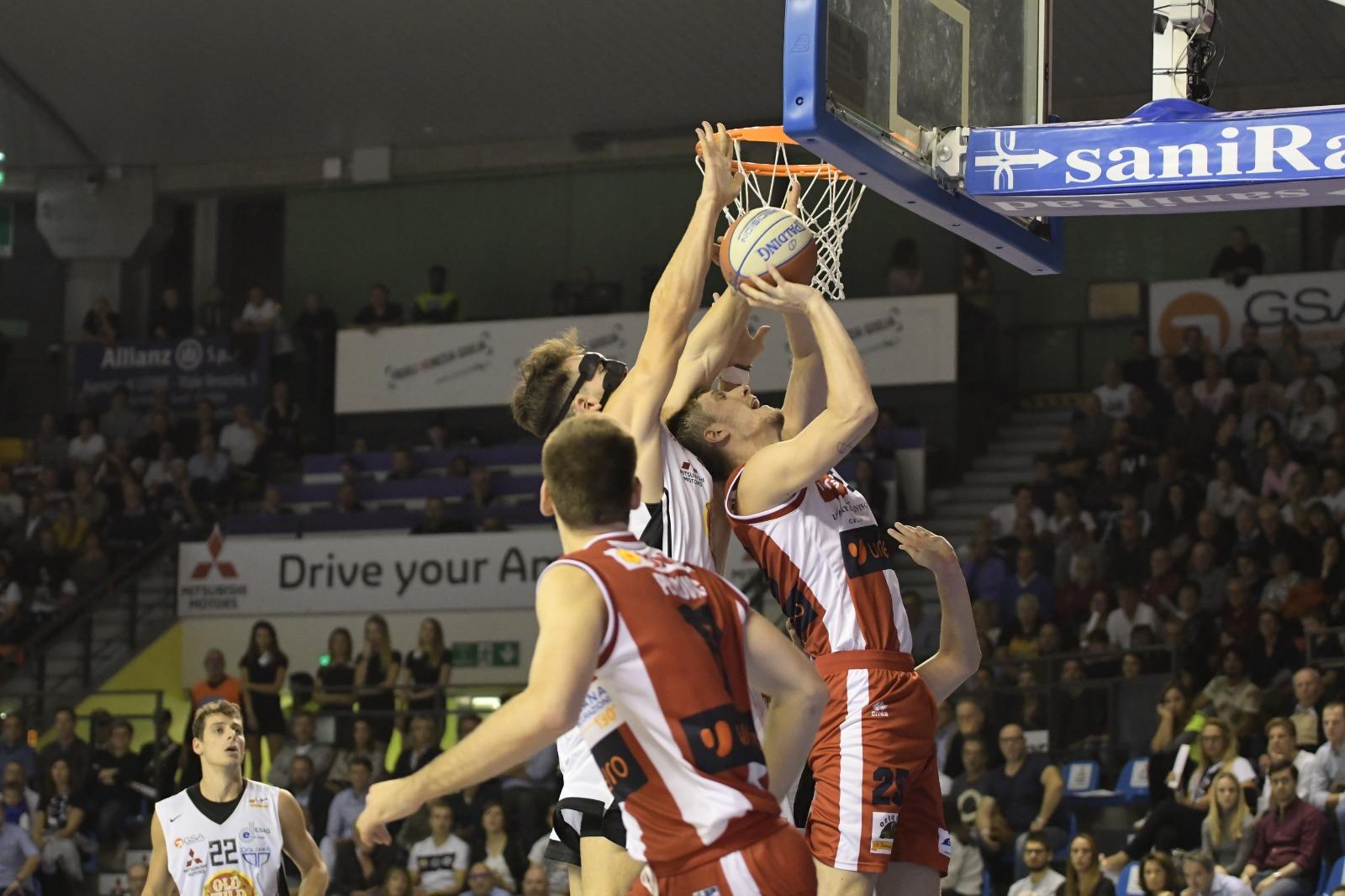 Basket-Udine-Forlì