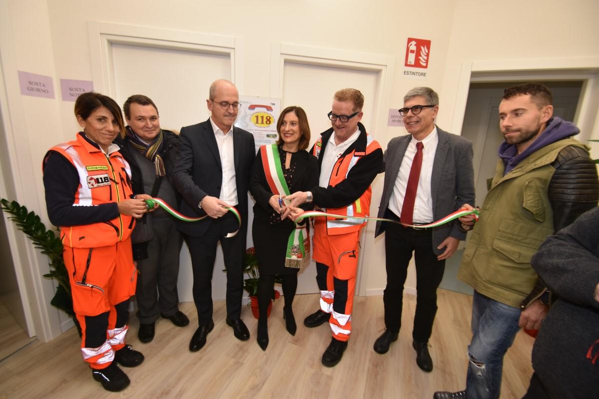 Inaugurata-la-nuova-postazione-del-118-di-Forlimpopoli