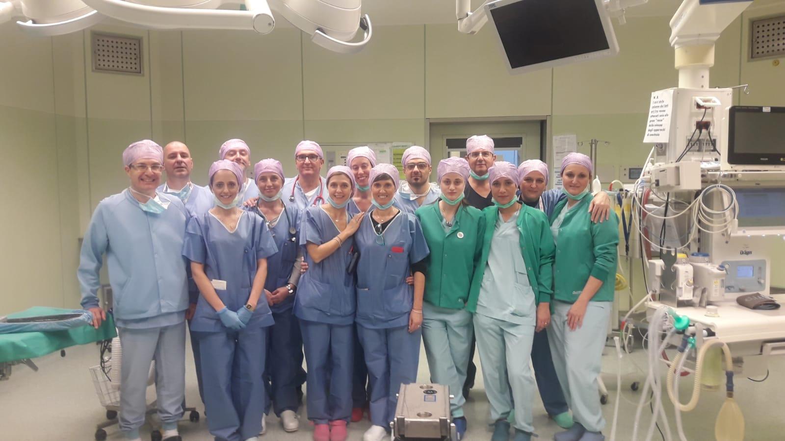 Ospedale Morgagni Pierantoni medici e infermieri