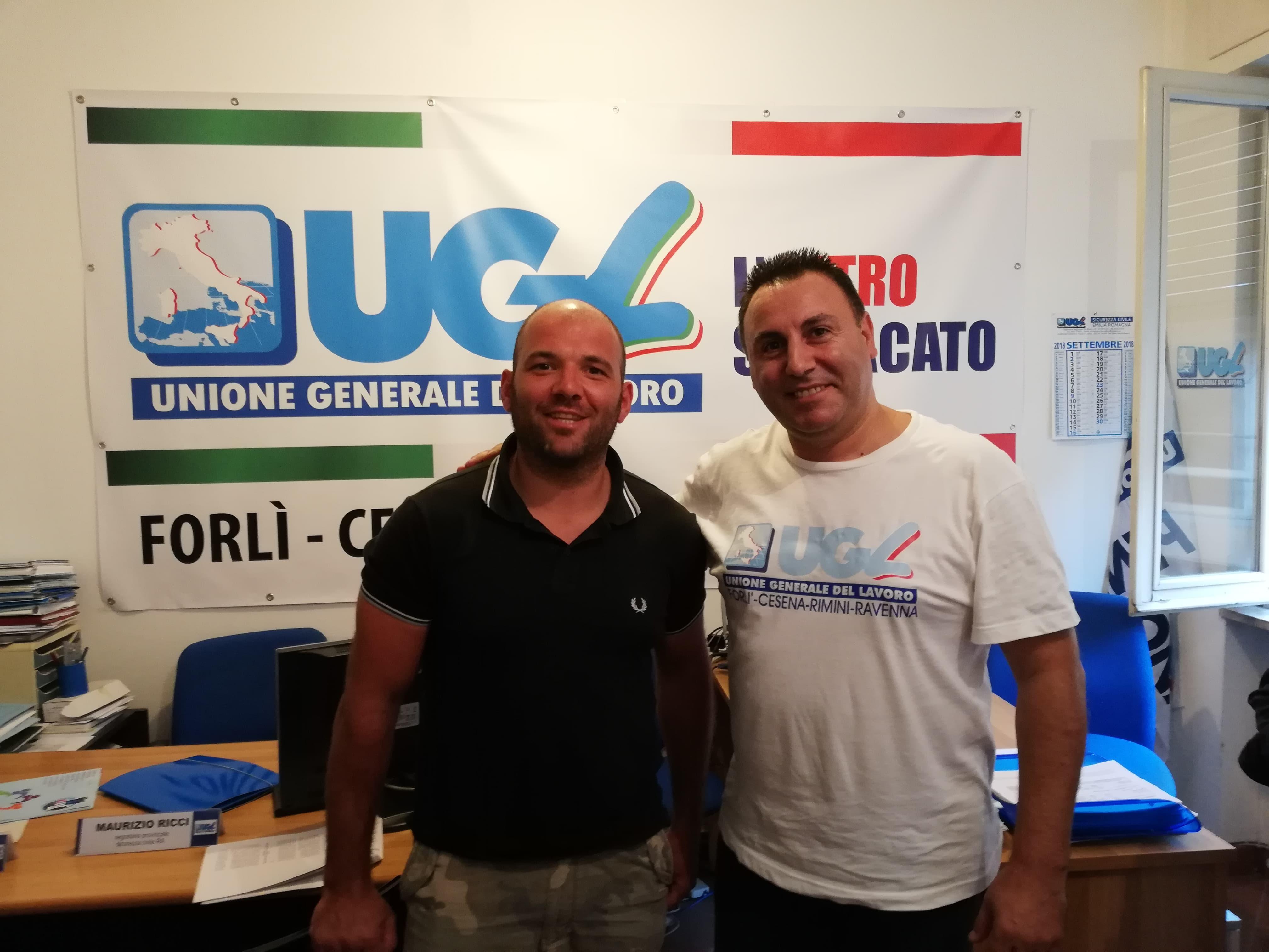 ugl Delmo Crociani e Filippo Lo Giudice