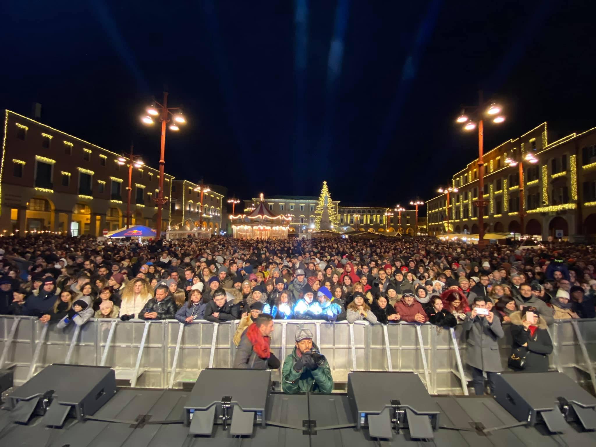 Capodanno 2020 piazza Saffi