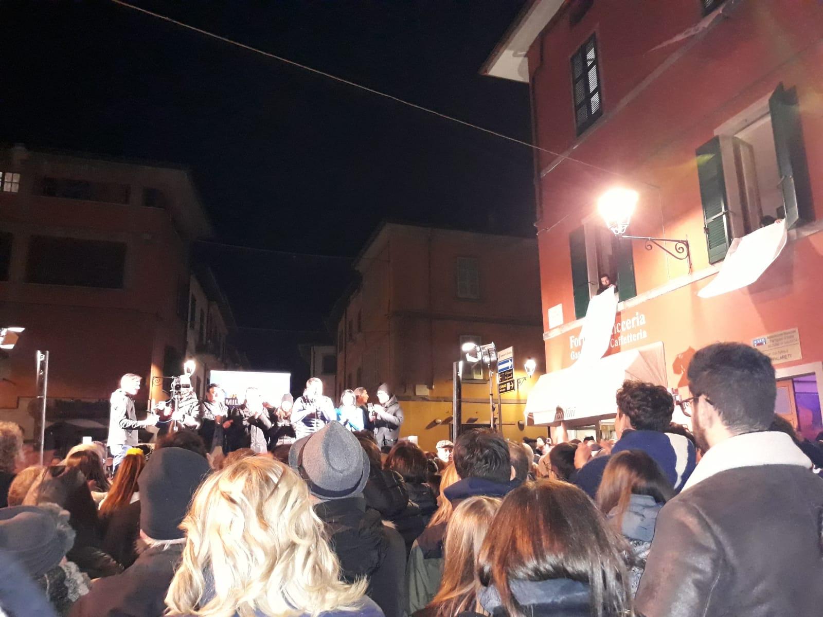 Salvini a Galeata