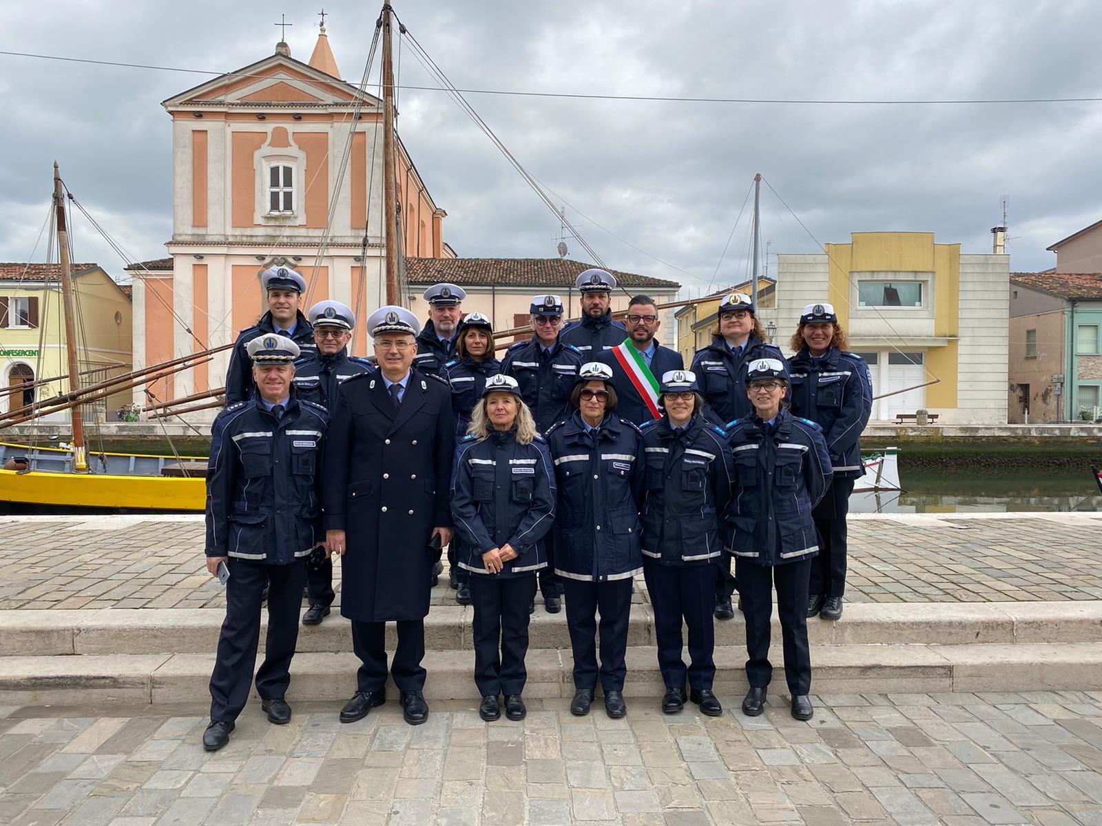 Polizia Locale di Forlì a Cesenatico