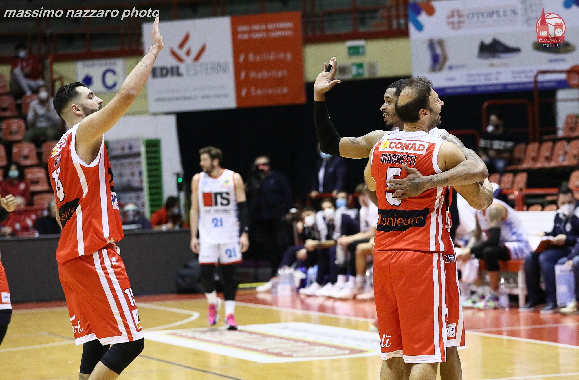 Basket-Forlì-Ferrara