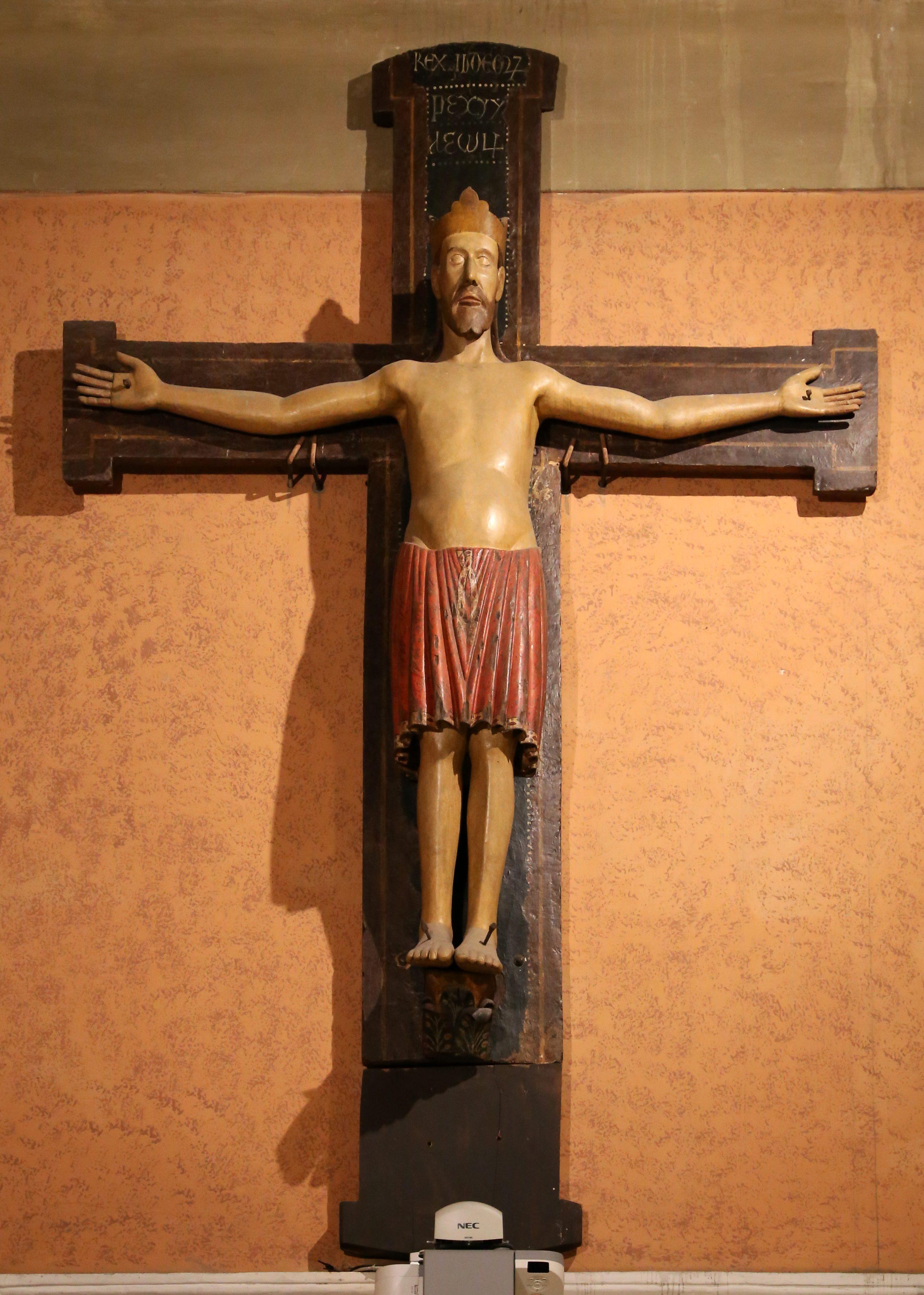 Duomo-Forlì-Crocifisso-romanico-del-XII-secolo