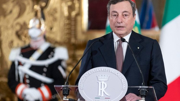 Mario Draghi Presidente del Consiglio