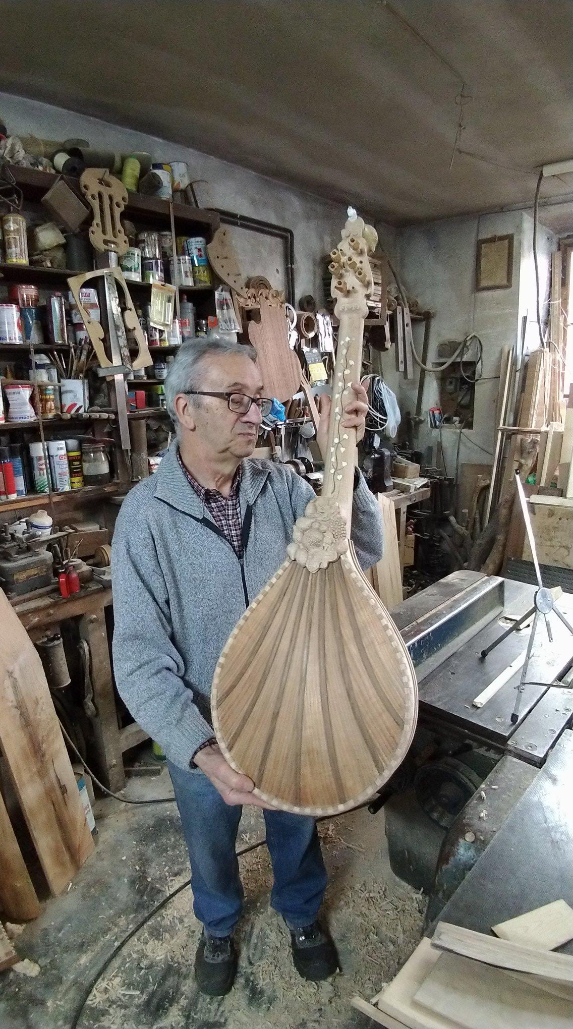 Luigi Foscolo Lombardi liutaio