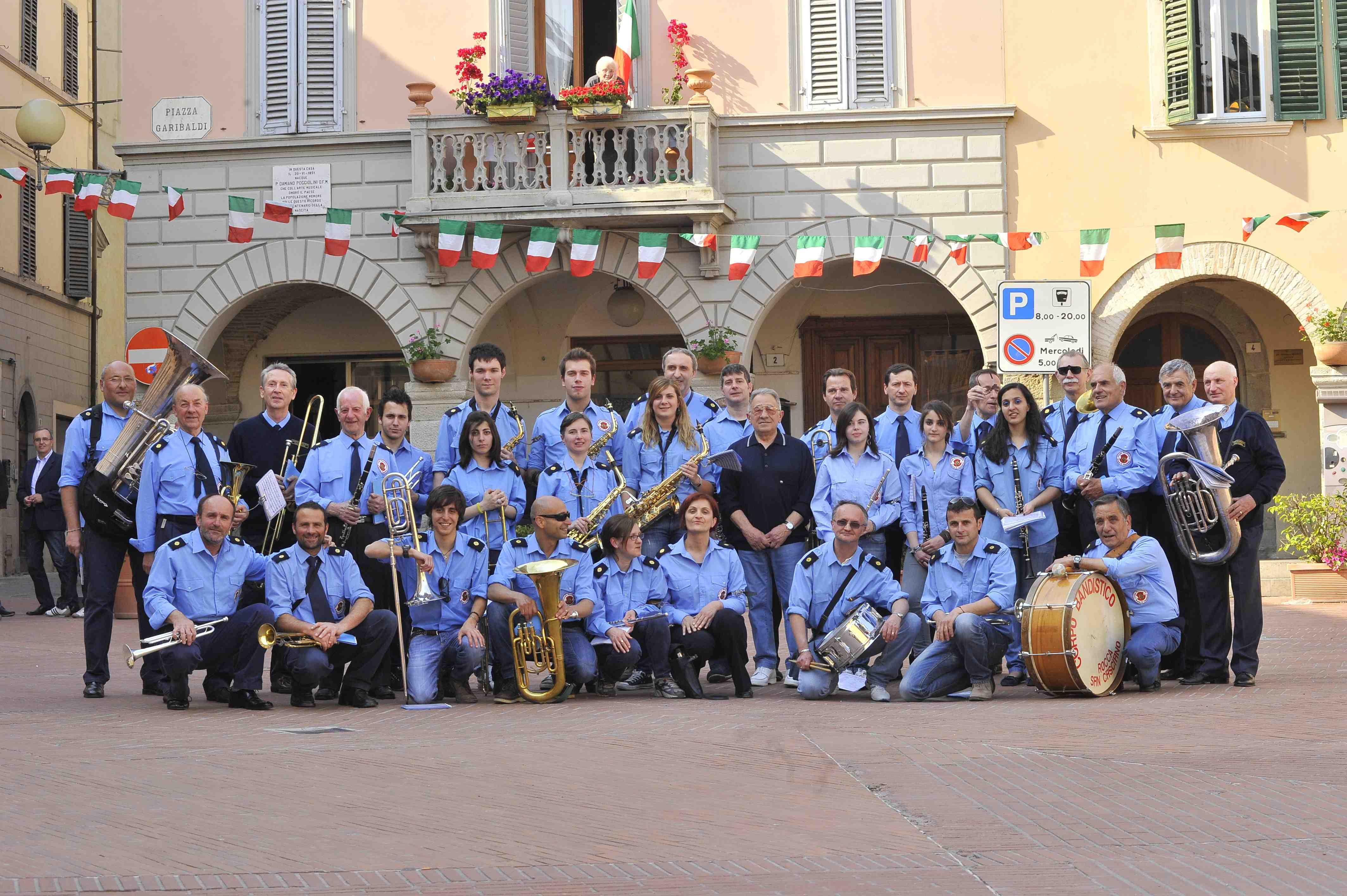 Banda di Rocca San Casciano di alcuni anni fa
