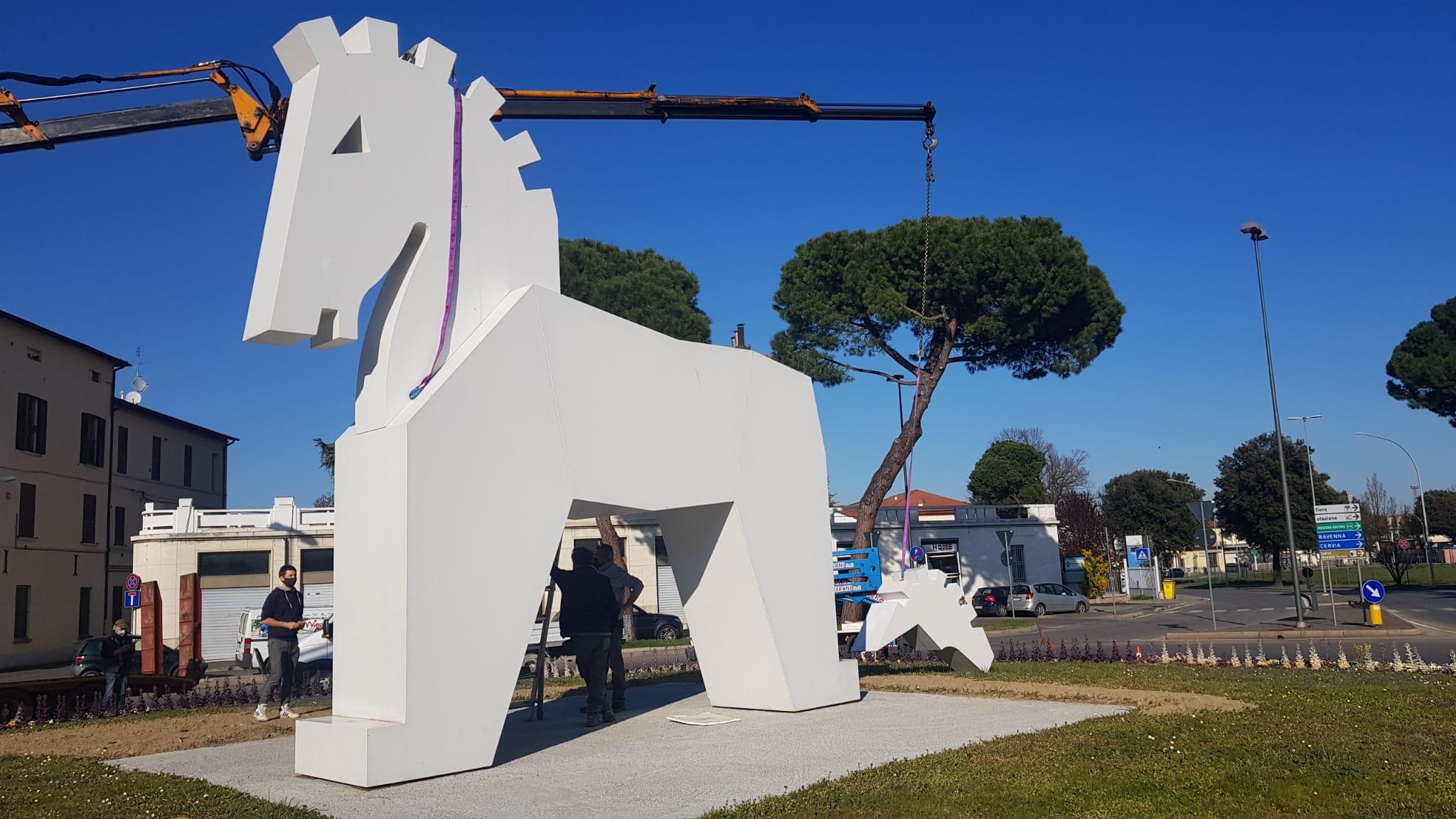 Cavallo di Troia a Forlì