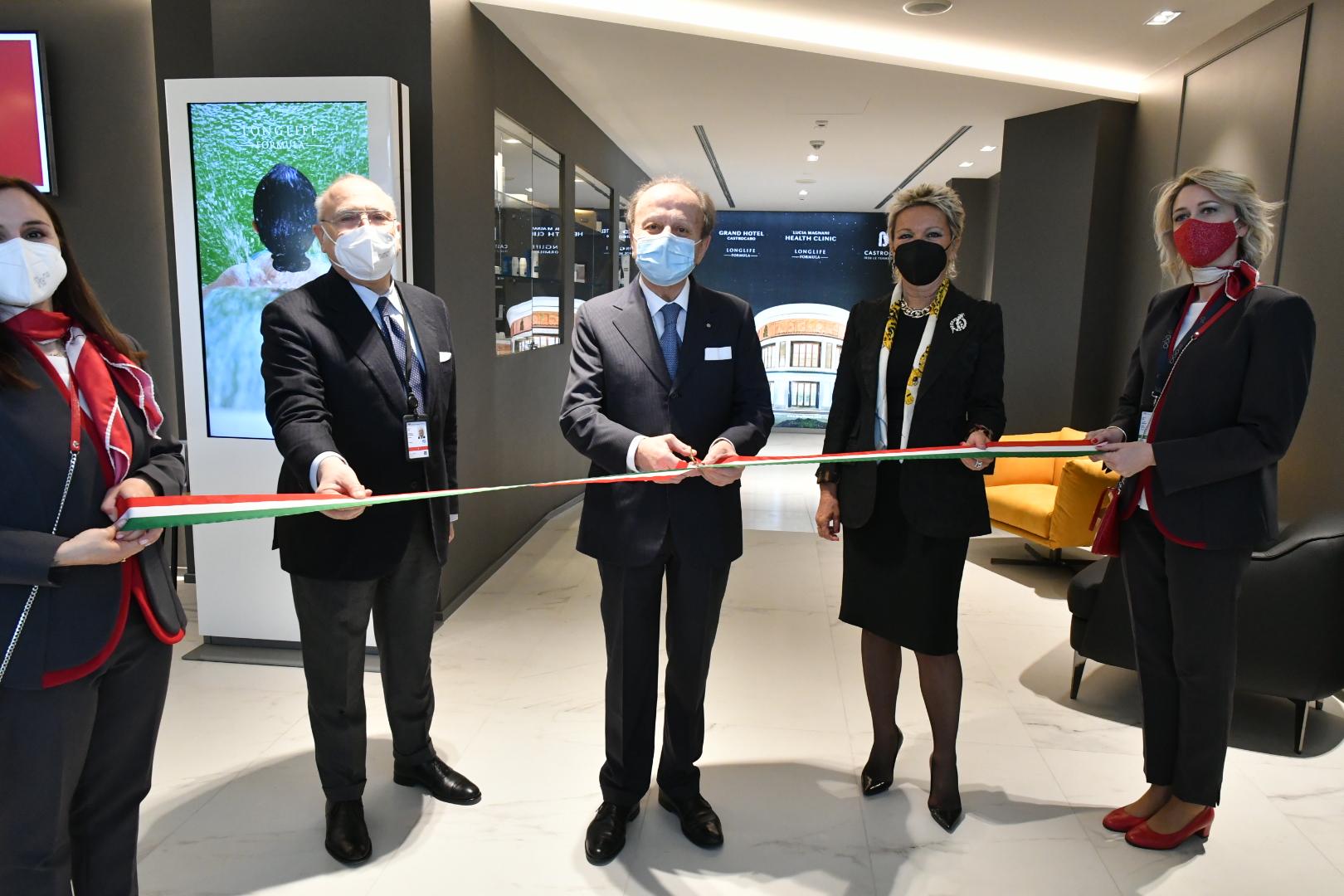 Inaugurazione zona vip aeroporto Luigi Ridolfi