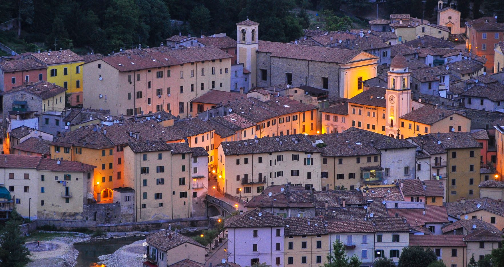 Rocca San Casciano panorama
