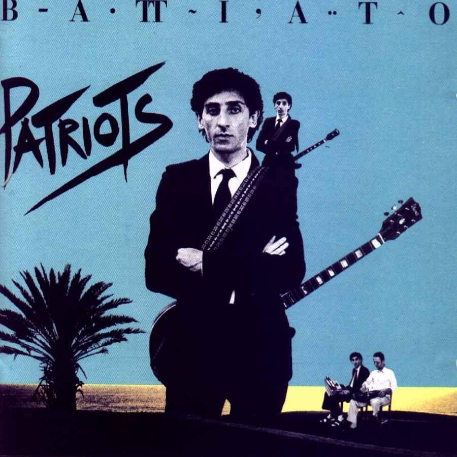 Franco Battiato copertina disco Patriots