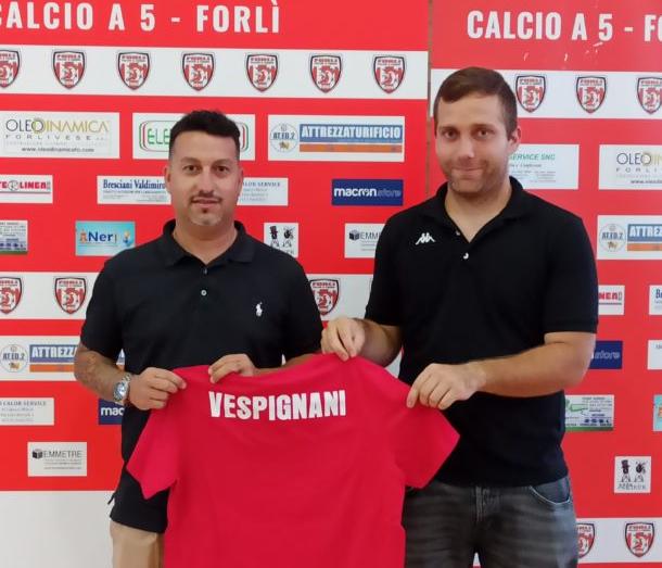 Matteo Vespignani allenatore Forli Calcio a cinque
