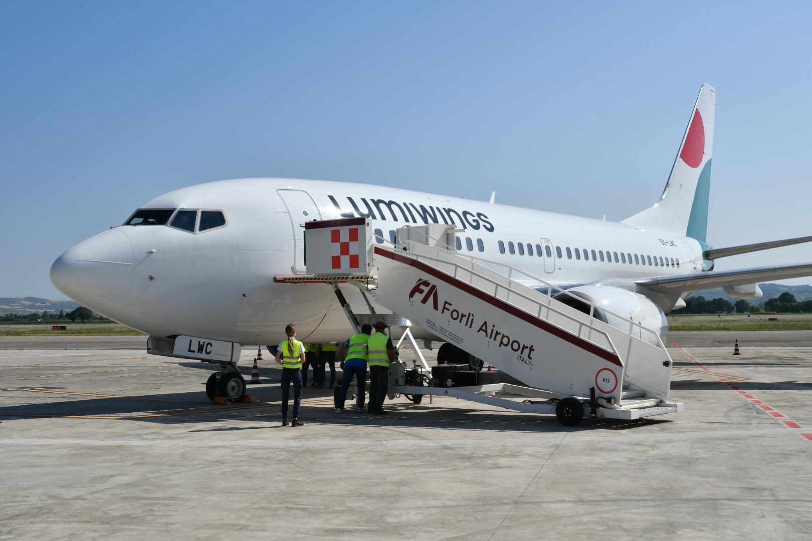 Itaca Lumiwings aeroporto boeing