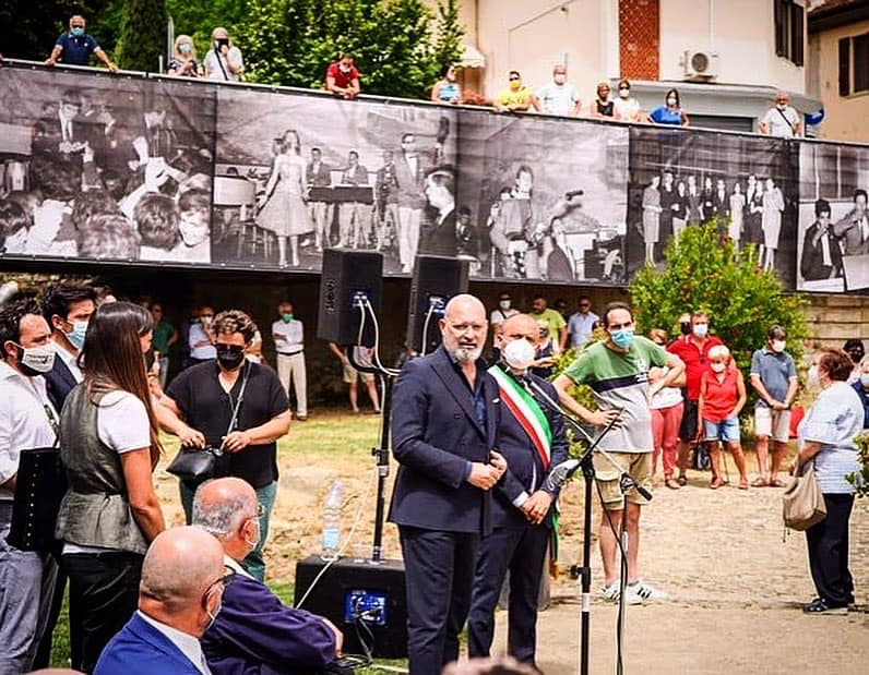 Stefano Bonaccini in visita a Santa Sofia
