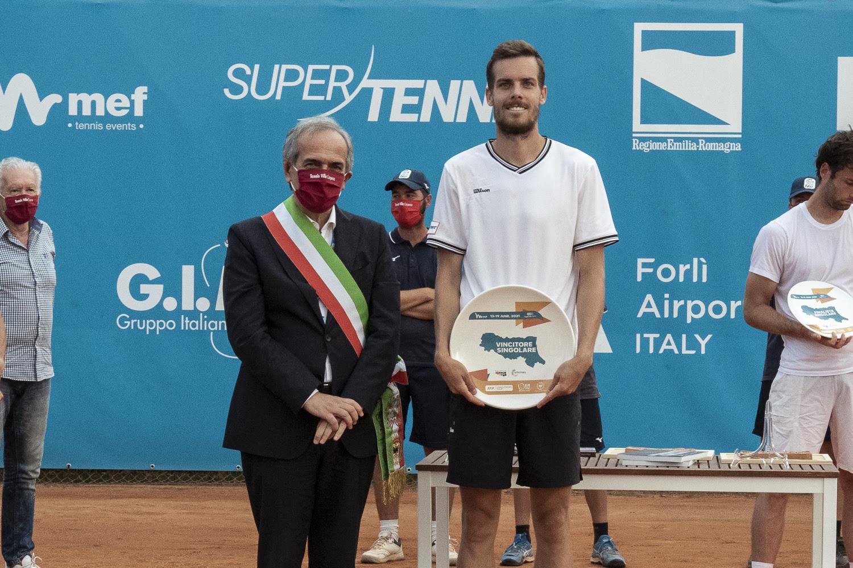 Mats Moraing vincitore Internazionale di Tennis Città di Forlì